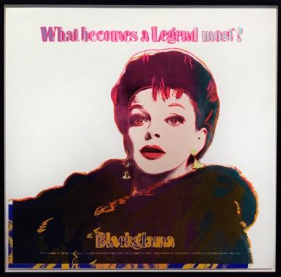 Andy Warhol - Blackglama TP White