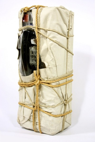 Christo, Wrapped Payphone, 1988