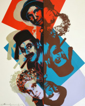"The Marx Brothers (FS II.232), from the Portfolio ""Ten Portraits of Jews of the Twentieth Century"""
