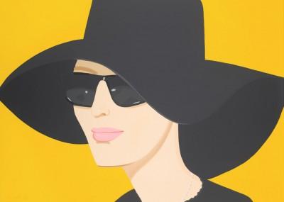 Ulla in Black Hat von Alex Katz
