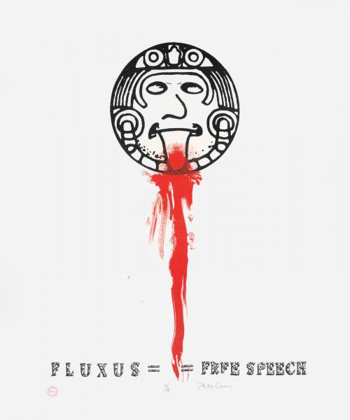 Philip Corner, Fluxus Free Speech, 2006
