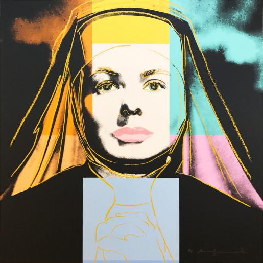 "Andy Warhol, The Nun (FS II.314), from the Portfolio ""Ingrid Bergman"", 1983"