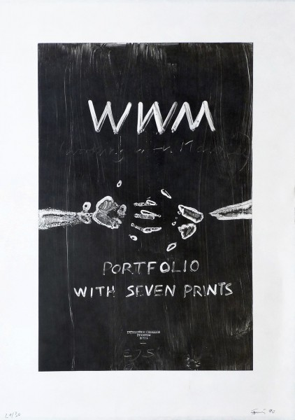 Günther Förg, WWM, 1989