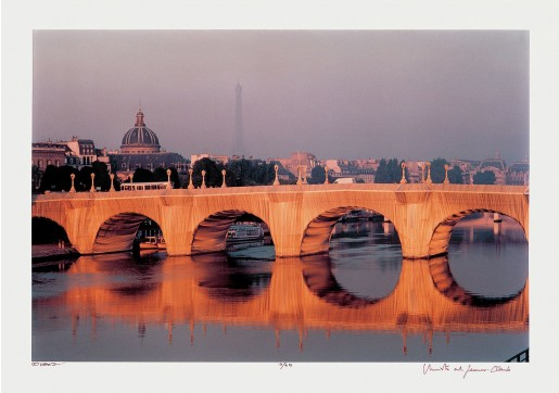 Christo & Jeanne-Claude, The Pont Neuf Wrapped, Paris, 1975/1985