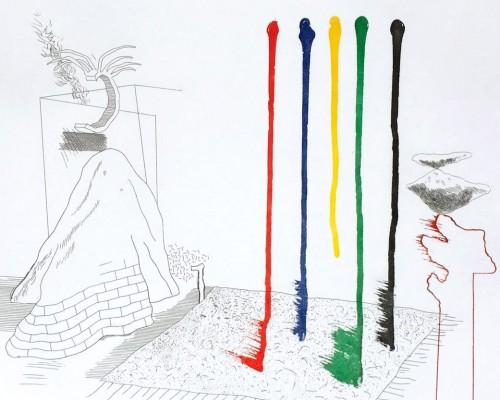 I Say They Are von David Hockney