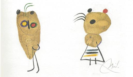 Joan Miró, L'Enfance d'Ubu, 1975