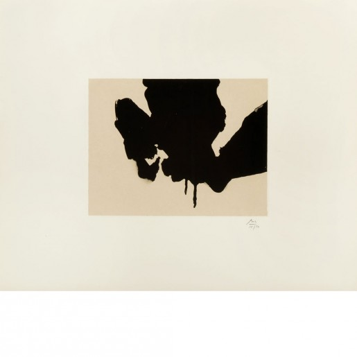 Robert Motherwell, Untitled (from Three Poems by Octavio Paz), 1988