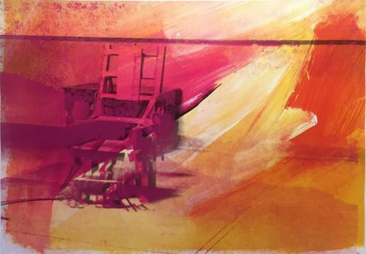 Andy Warhol, Electric Chair (FS II.81), 1971