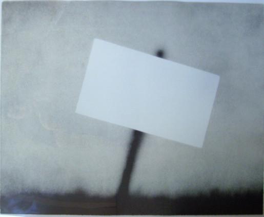 Ed Ruscha, Untitled (Blank Sign), 1989