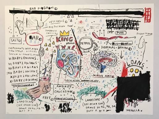 Jean-Michel Basquiat, King Brand, 1982