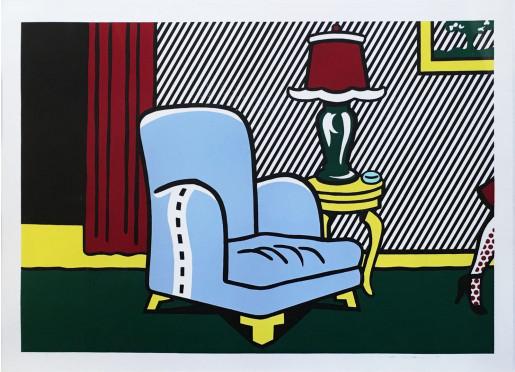 Roy Lichtenstein, La Sortie, from Interior Series, 1991