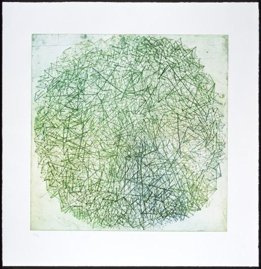 Tal R, Xanadu (green), 2009