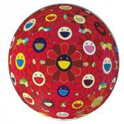 Red Flower Ball (3D)
