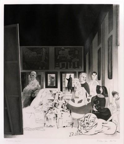 Picasso's Meninas von Richard Hamilton