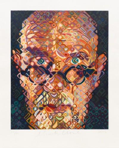 Self Portrait von Chuck Close
