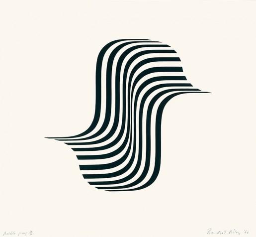 Bridget Riley, Untitled (Wing Curve), 1966