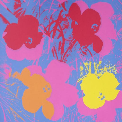 Andy Warhol, Flowers (FS II.66), 1970