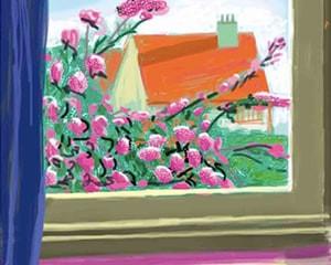 My Window 'No. 778' von David Hockney