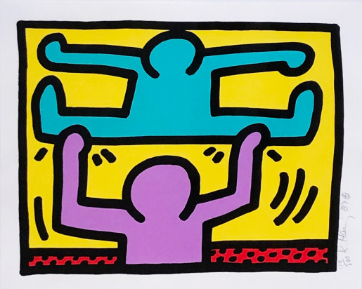 Keith Haring, Pop Shop I (D), 1987