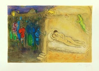 "Marc Chagall, Hymenaios (from ""Daphnis and Chloe""), 1961"