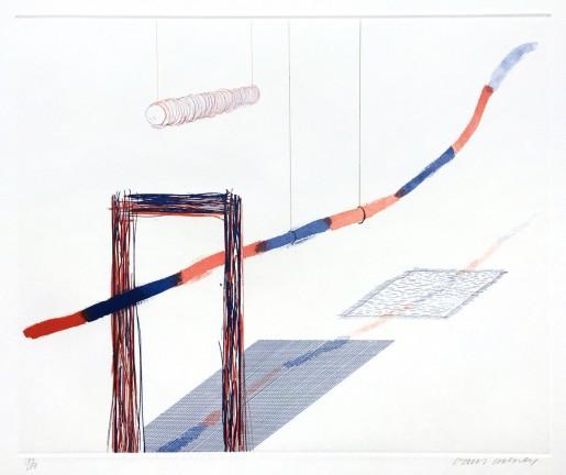 "David Hockney, It Picks Its Way (from ""The Blue Guitar"" portfolio), 1976-77"