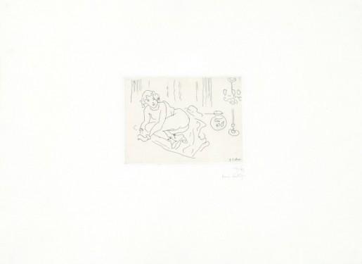 Henri Matisse, Nu couché (Intérieur à la lampe vénitienne), 1929
