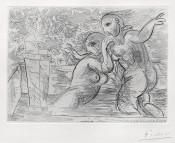 The Surprised Bathing Women | Les Baigneuses Surprises, from: La Suite Vollard