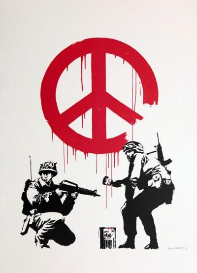 CND Soldiers von Banksy
