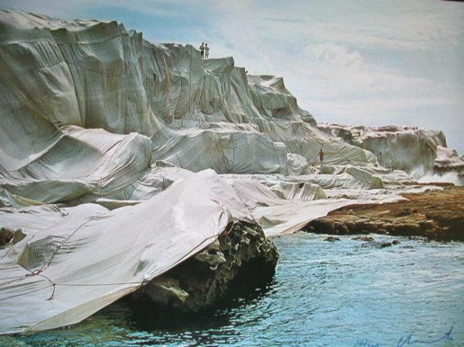 Christo, Wrapped Coast: Little Bay, Australia, 1969