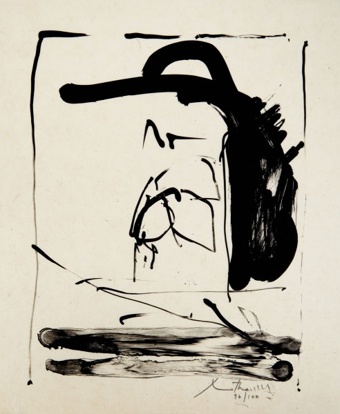 Robert Motherwell, THE ROBINSON JEFFERS PRINT, 1981