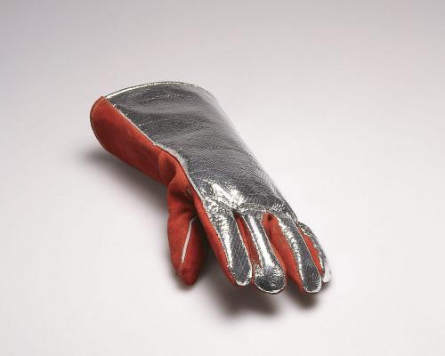 Firemans Glove with Photograph von Roman Signer