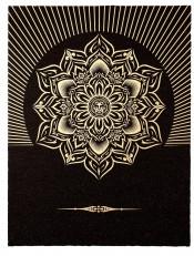 Obey Lotus Diamond (Black & Gold)