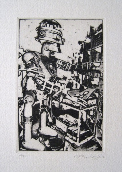 Eduardo Paolozzi, Ohne Titel, 1974