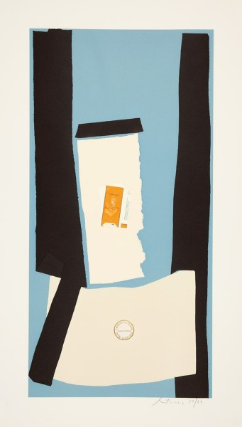 Robert Motherwell, Harvest, in Scotland, from the Summer Light Series, 1973