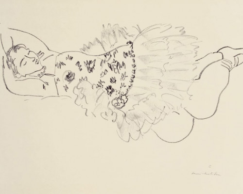 Danseuse endormie von Henri Matisse