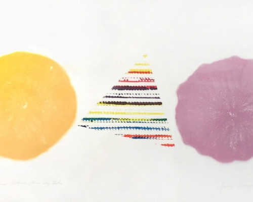 Pyramid Between Two Dry Lakes von James Rosenquist