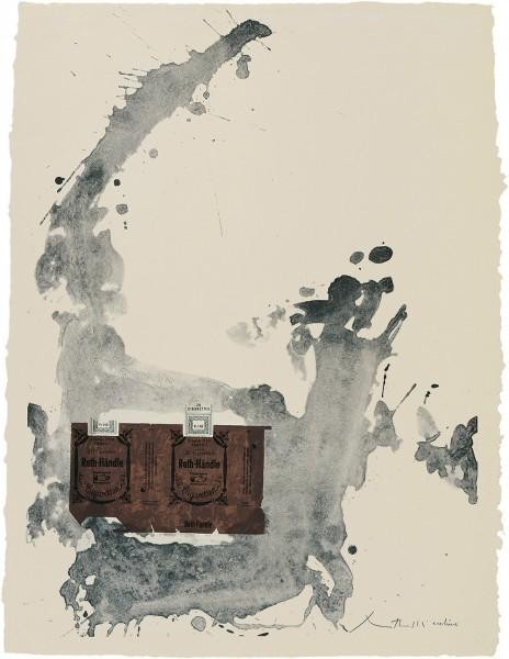 Robert Motherwell, Tobacco Roth-Handle, 1975