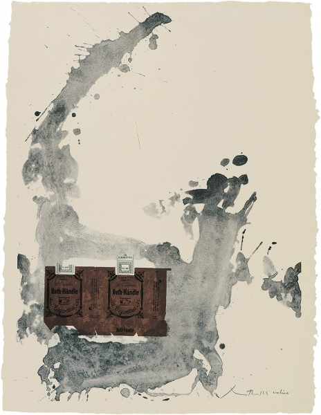 Robert Motherwell, Tobacco Roth-Handle, 1975