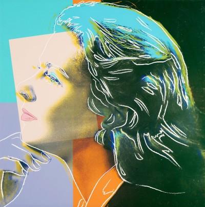 Ingrid Bergman, Herself FS II.313 von Andy Warhol