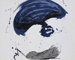 Thrown Ink Bottle with Fly and Dropped Quill von Claes Oldenburg