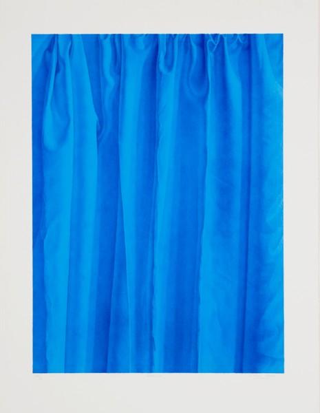Claudio Bravo, Neptuno (blue), 1989