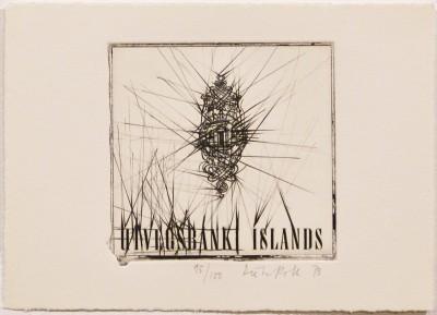 "Uvigs Bank Islands (from ""Eighteen Small Prints"") von Dieter Roth"