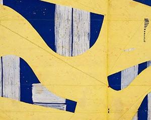 Three String Etching Giallo von Caio Fonseca