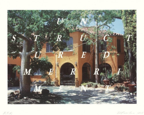 Unstructured Merriment von Ed Ruscha