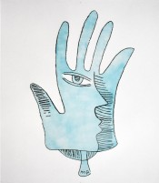 The Blue Hand