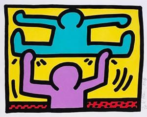Pop Shop I (D) von Keith Haring