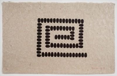 Richard Long, Untitled (A-horizontal), 1994