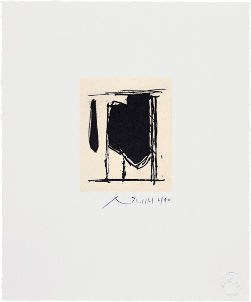 Robert Motherwell, Untitled (State I), 1977