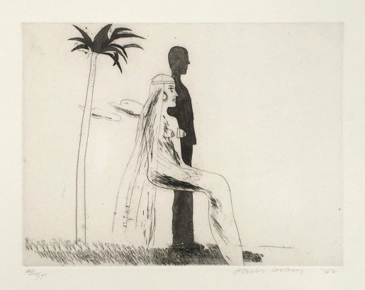 David Hockney, The Marriage, 1962
