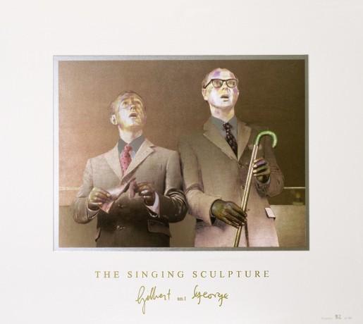 Gilbert & George, The Singing Sculpture 1969-91, 1993
